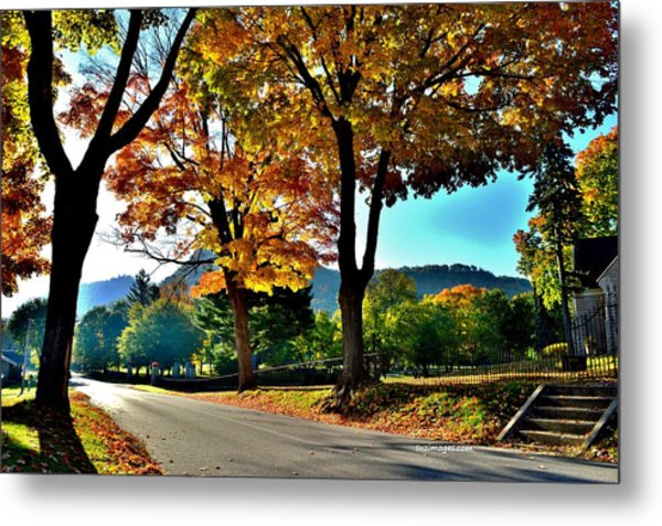 Cemetery Road Metal Print