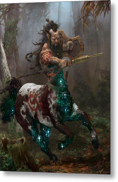 Centaur Token Metal Print