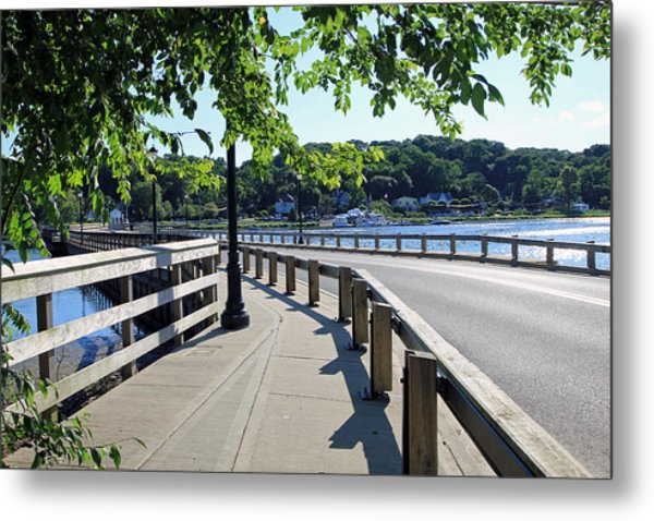 Centerport Bridge Long Island New York Metal Print