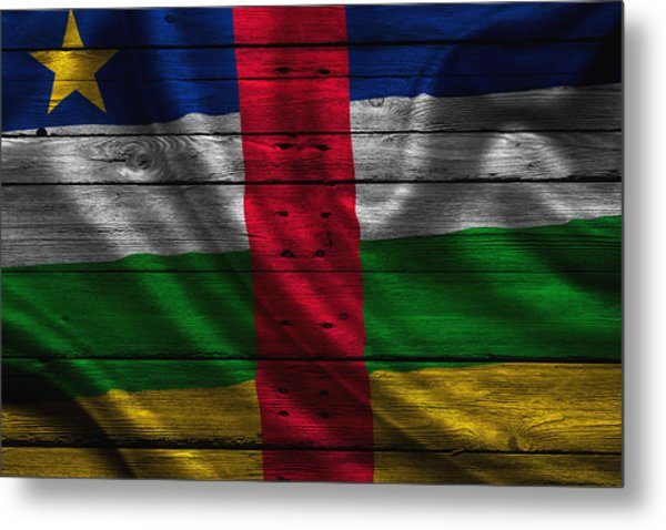 Central Africa Metal Print
