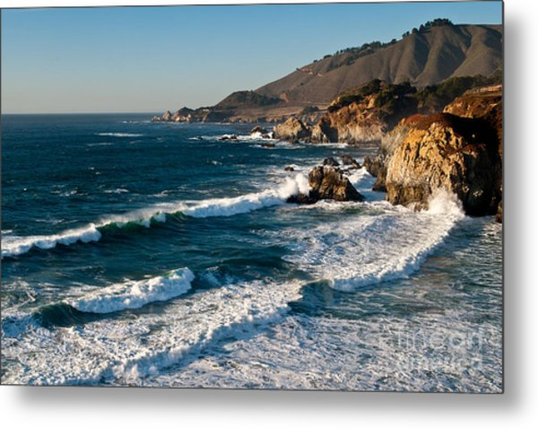 Central Coastal California 2.2609 Metal Print by Stephen Parker