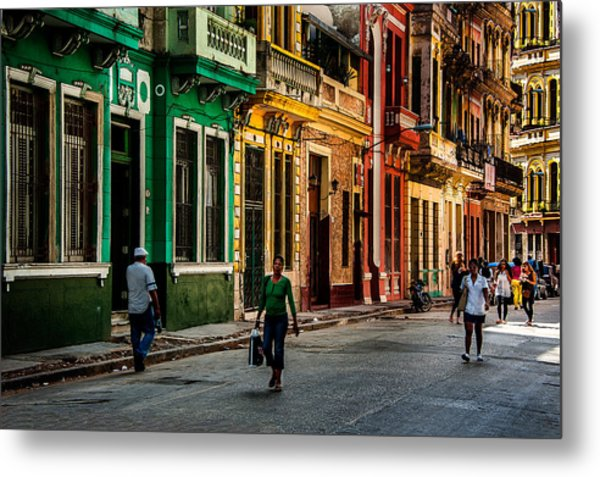 Central Havana Metal Print