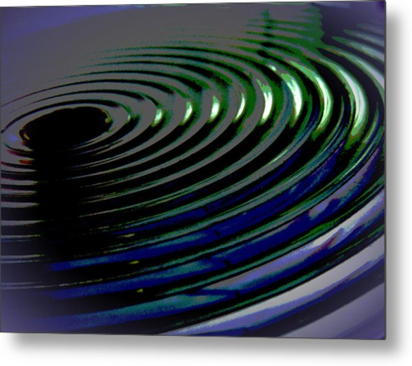 Centrifugal Abstract Metal Print