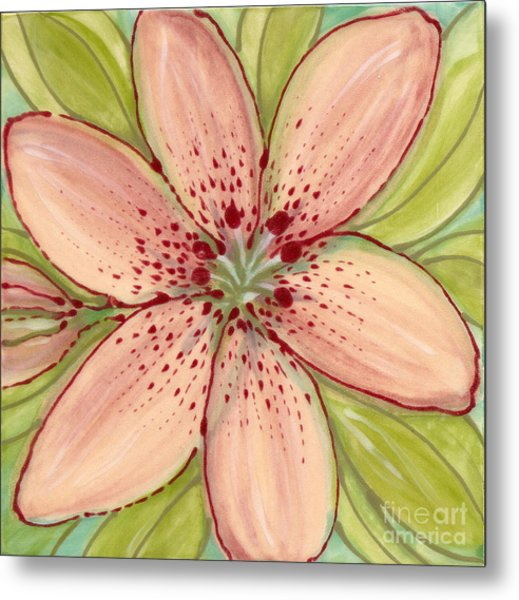 Ceramic Flower 2 Metal Print