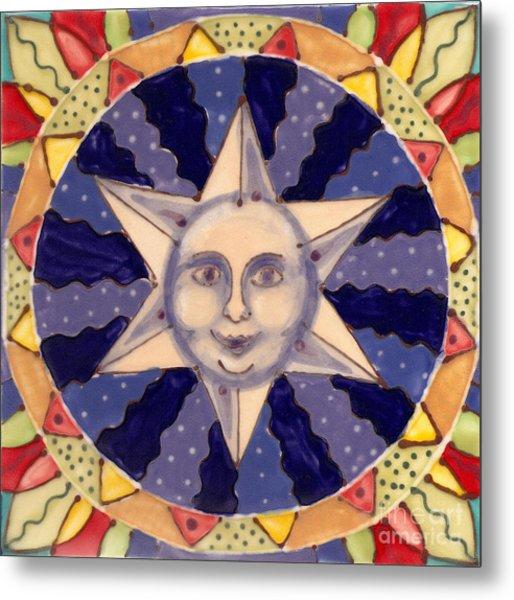 Ceramic Star Metal Print