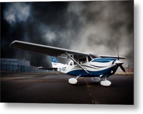 Cessna Ground Metal Print