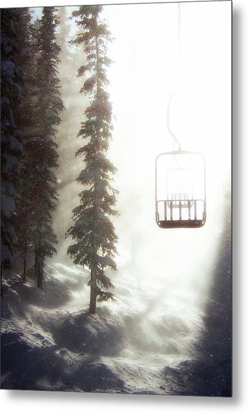 Chairway To Heaven Metal Print