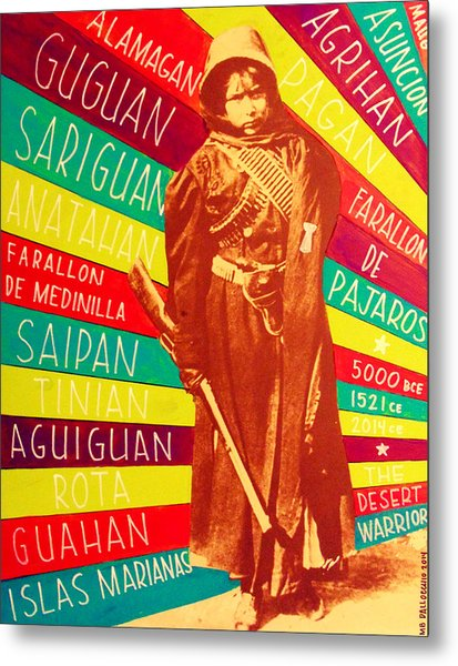 Chamorro Revolutionary Metal Print