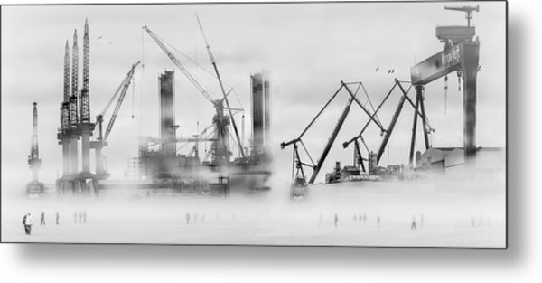 Change Of Shift Metal Print by Margit Lisa Roeder
