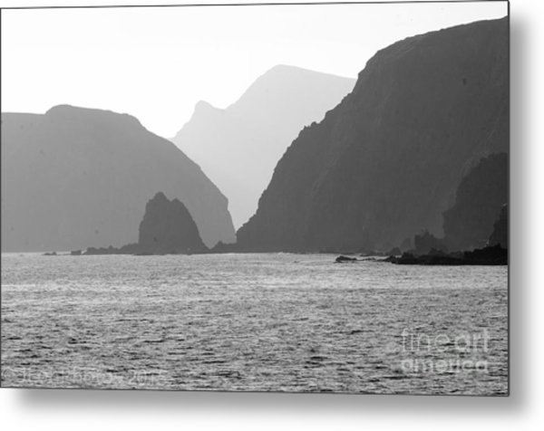 Channel Islands Sunset Metal Print