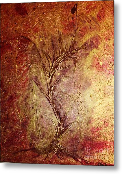 Chaos - The Bleeding Tree  Metal Print