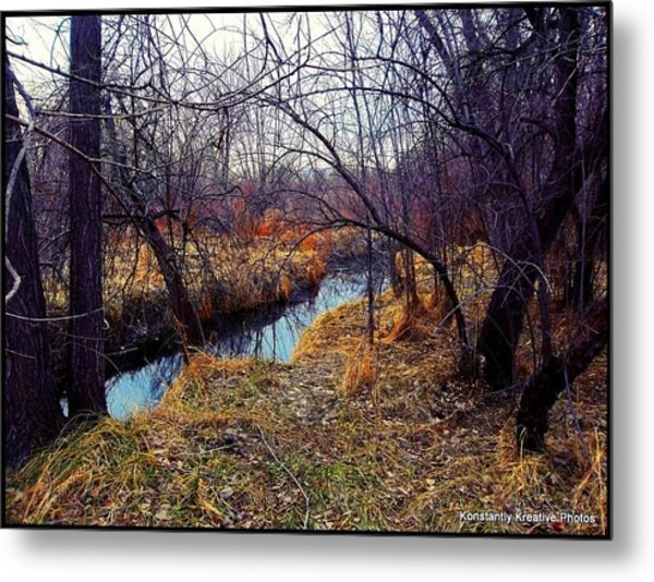 Chaotic Tranquility Metal Print by Misty Herrick