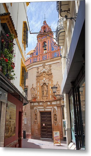 Chapel Of St. Joseph Of Seville Metal Print