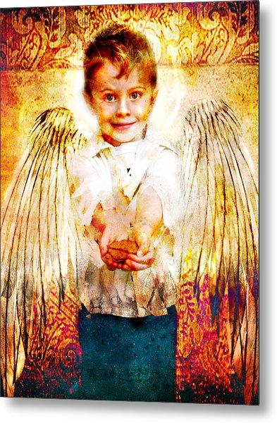 Charity Of Angels Metal Print