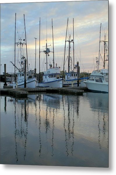 Charleston Boats Metal Print