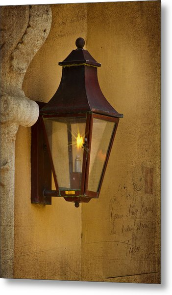 Charleston Carriage Light Metal Print