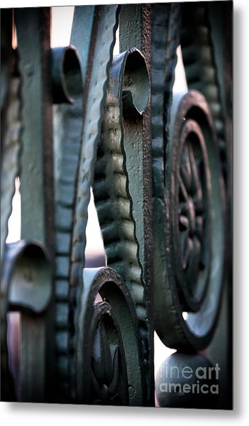 Charleston Iron Metal Print by John Rizzuto