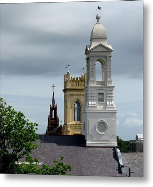 Charleston View Metal Print