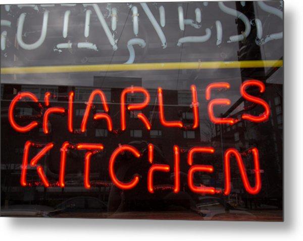 Charlies Kitchen Metal Print