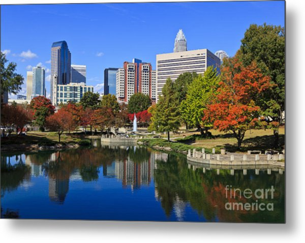 Charlotte North Carolina Marshall Park Metal Print