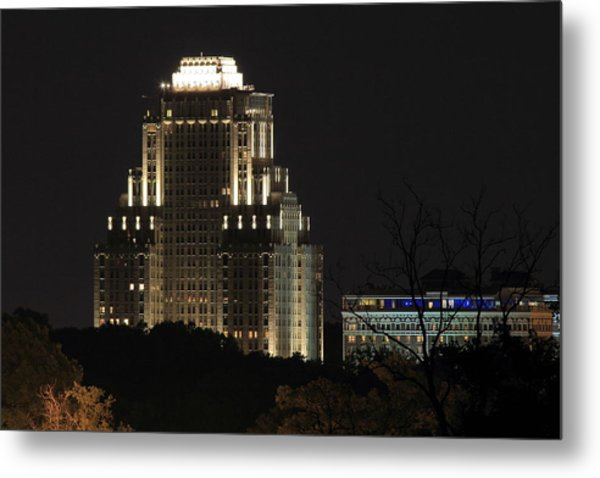 Chase Park Plaza From Art Hill Metal Print