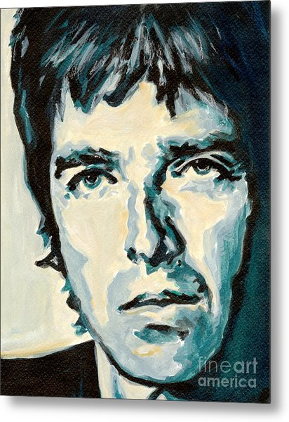 Noel Gallagher Metal Print