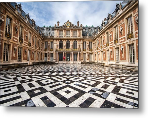 Chateau Versailles France Metal Print