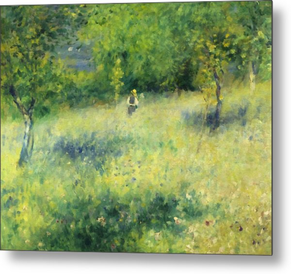 Chatou After Renoir Metal Print