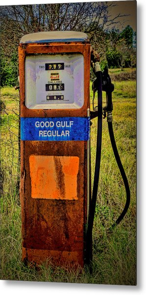 Cheap Gas Metal Print