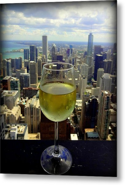 Cheers Chicago Metal Print
