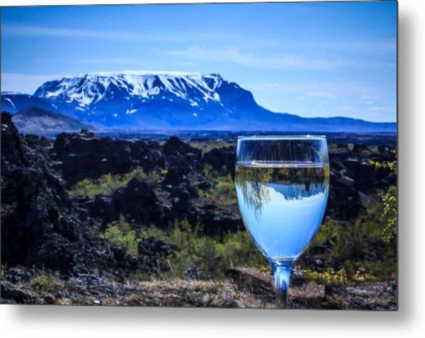 Cheers To Iceland Metal Print