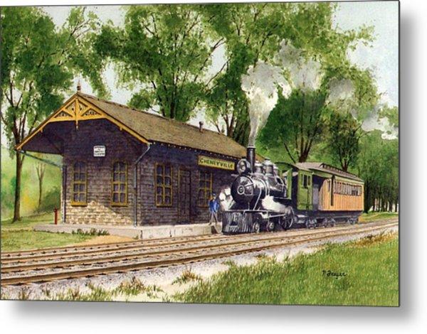 Cheneyville Station Metal Print