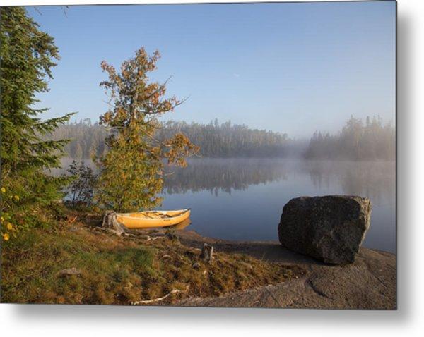 Cherokee Lake Sunrise Metal Print