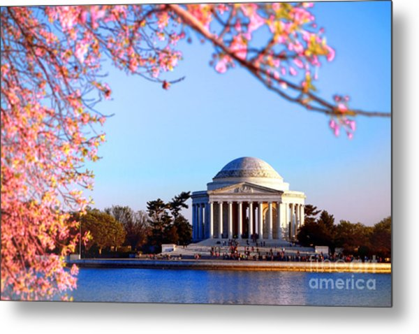 Cherry Jefferson Metal Print