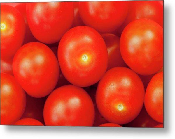 Cherry Tomatoes Metal Print by Andrew Dernie