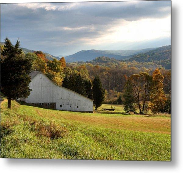 Cherry Valley Farm Metal Print