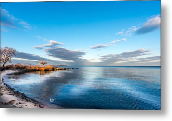 Chesapeake Bay Sky Metal Print