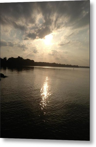 Chesapeake Sunset Metal Print