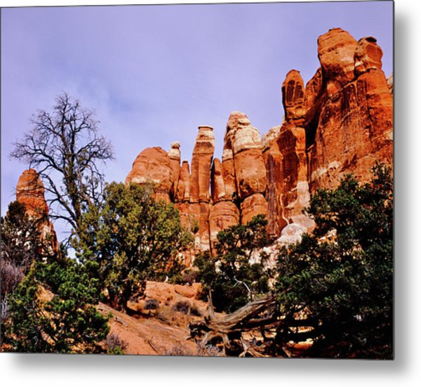 Chesler Park Pinnacles Metal Print