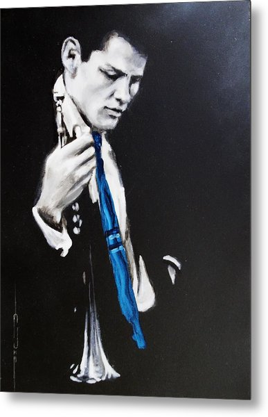 Chet Baker - Almost Blue Metal Print