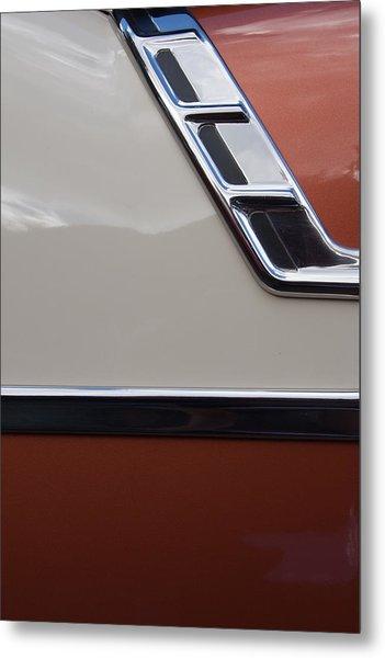 Chevrolet Bel Air Metal Print by W Chris Fooshee