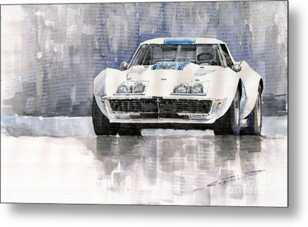 Chevrolet Corvette C3 Metal Print