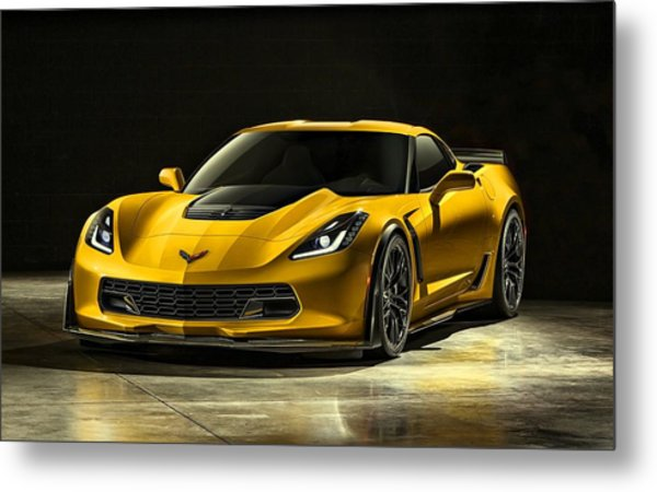 Chevrolet Corvette Z06  Metal Print