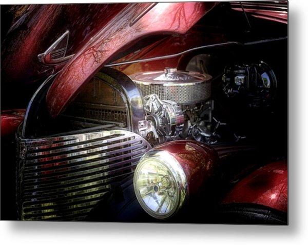 Chevrolet Master Deluxe 1939 Metal Print