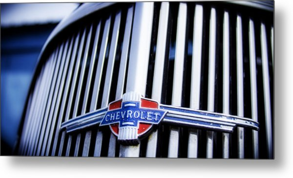 Chevy Fleetline Metal Print