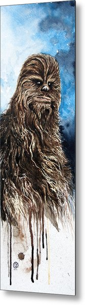 Chewbacca Metal Print