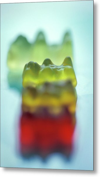 Chewy Sweets Metal Print