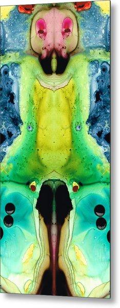 Chi Ant - Aka Mr Happy Bug By Sharon Cummings Metal Print