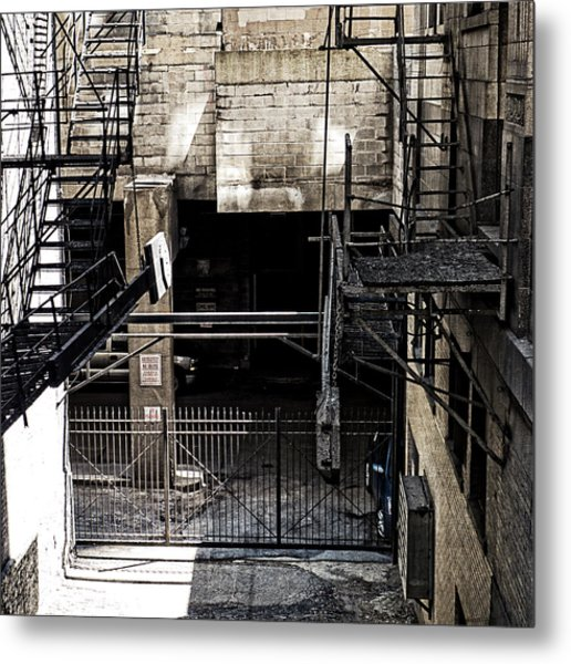 Chicago Alley Metal Print