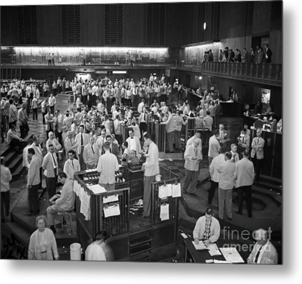 Chicago Board Of Trade 1957 Metal Print